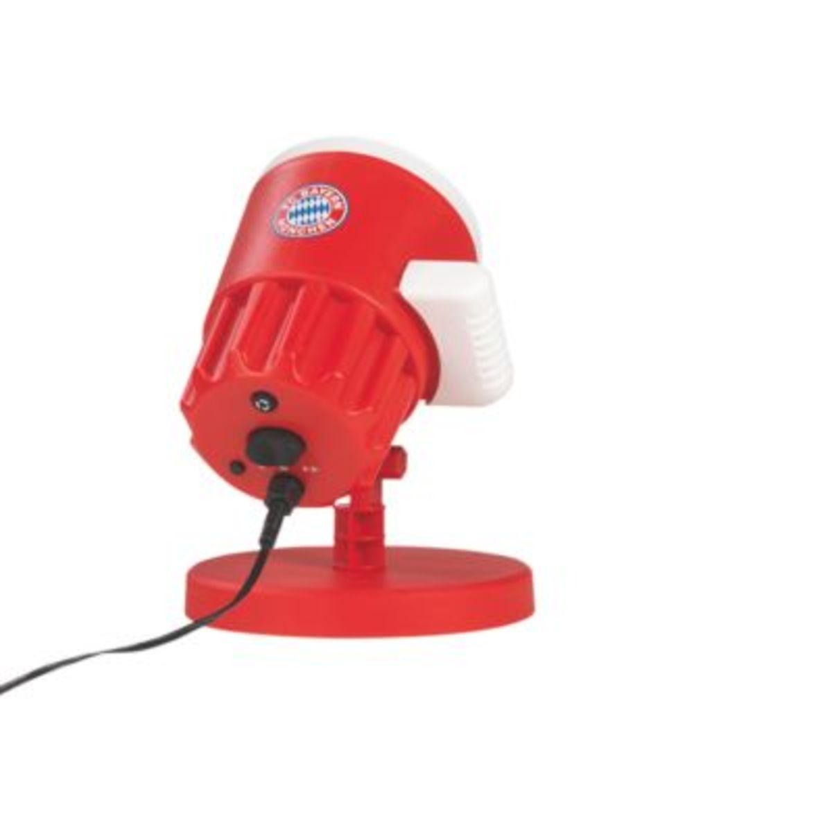 Bild 4 von FCB LED-Motivstrahler 7,5W rot mit Logo