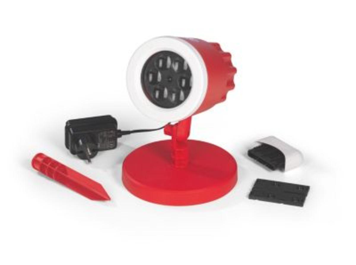 Bild 5 von FCB LED-Motivstrahler 7,5W rot mit Logo