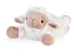 Wärmestofftier Schaf inkl. Kirschkernkernkissen