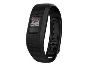 GARMIN Vivofit 3 Schwarz (Standard) Anzeige von Schritten Kalorienverbrauch,Distanz,Datum und Uhrzeit