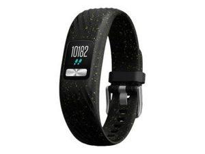 GARMIN vivofit 4 Schwarzgefleckt S/M Fitness-Tracker Batterielaufzeit bis zu 1 Jahr
