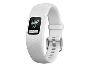 GARMIN vivofit 4 weiss S/M Fitness-Tracker Batterielaufzeit bis zu 1 Jahr