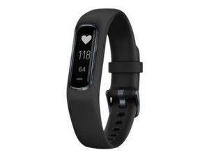 GARMIN Vivosmart 4 Fitnesstrackerschwarz/schwarz L 24/7 Herzfrequenzmessung