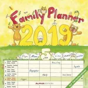 Familienplaner / Family Planner 2019