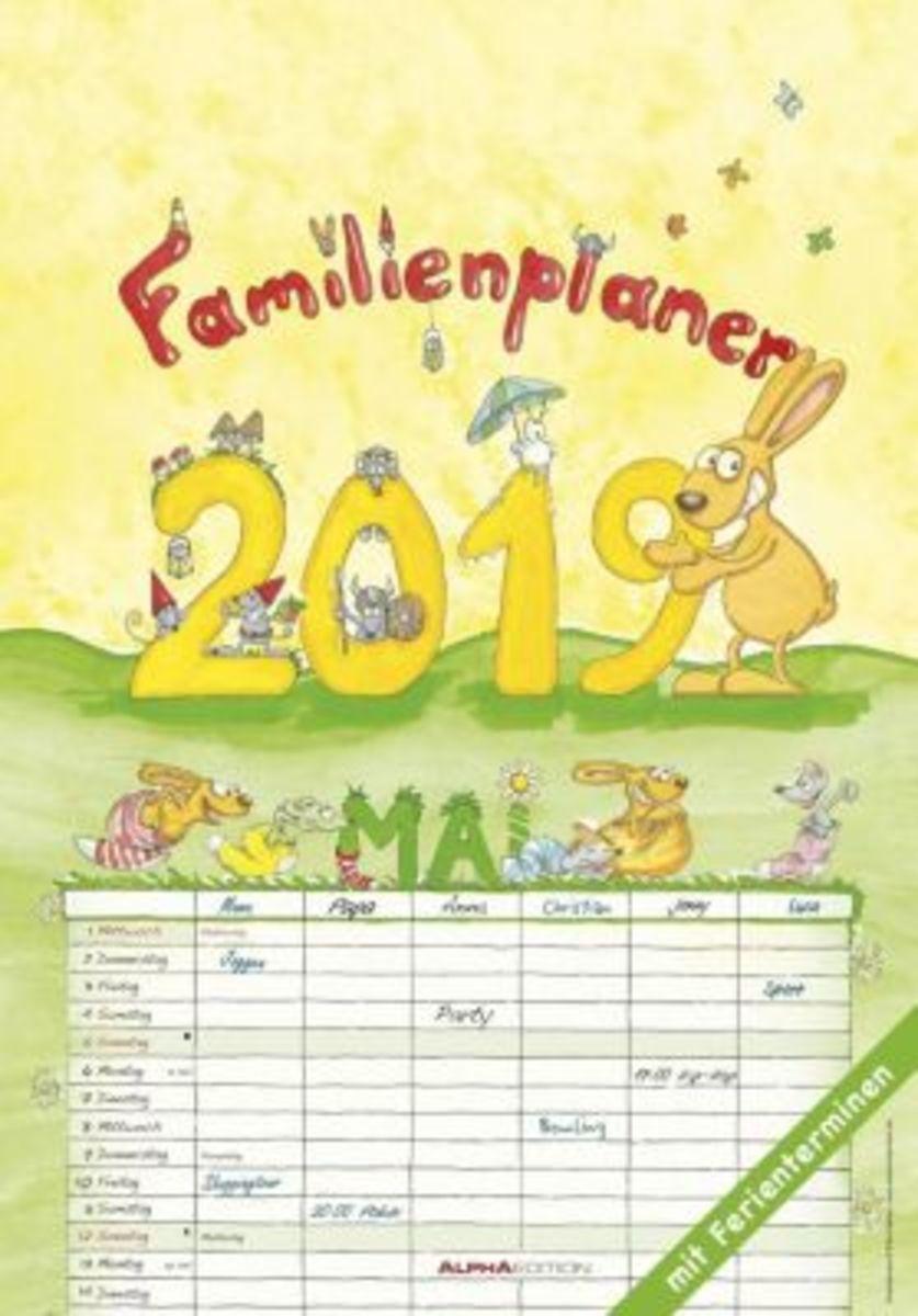 Bild 1 von Familienplaner 2019