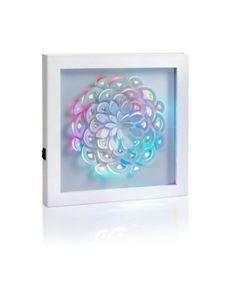 "LED-Wandbild ""Blume"""