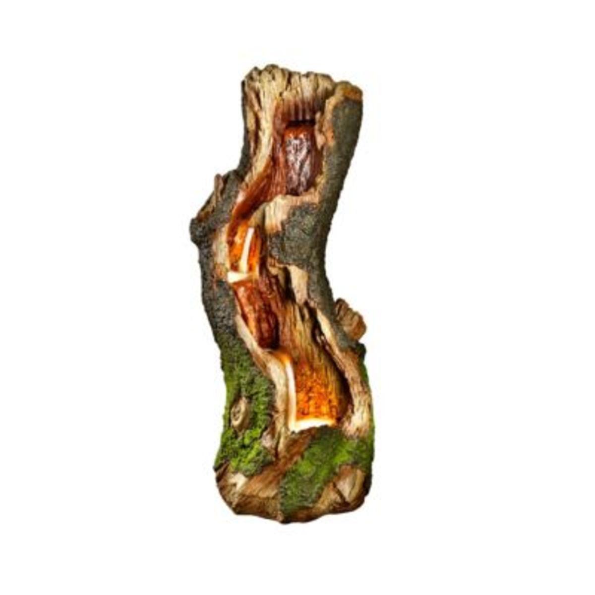 """Bild 1 von Brunnen """"Wood"""" mit LED"""