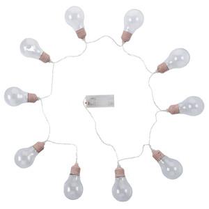 LED-Lichterkette im Glühbirnen-Design