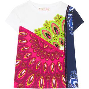 Desigual Mädchen Druck-T-Shirt