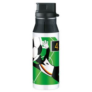 "Alfi Trinkflasche element Bottle II ""Soccer"", 0,6 l, grün"