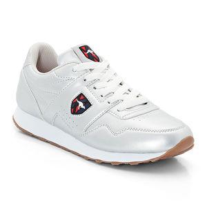 KangaROOS Damen Sneaker Retro Run, metallic