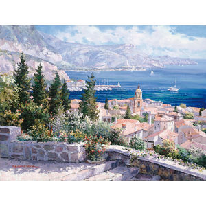 Schmidt Spiele Puzzle Über den Dächern von St. Tropez