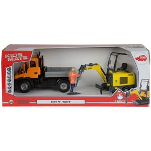 Dickie Toys Kids Mate Wacker Neuson City Set