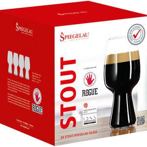 Spiegelau Craft Beer Stout Bierglas, 4er-Set