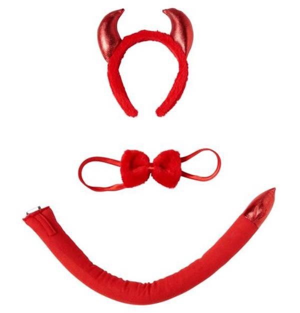 Orlob Karneval             Karnevalsaccessoire Teufel-Set 3-teilig