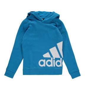adidas             Sweatshirt, Kapuze, Baumwolle, für Jungen