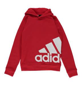 adidas             Sweatshirt, Baumwolle, Logo-Print, Kapuze, für Jungen