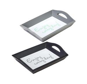 Foto-Tablett mit Glasboden, ca. 25x18cm