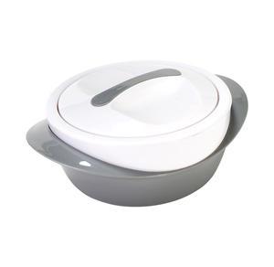 Isolierschüssel mit Innengefäß aus Edelstahl, ca. 1,2l
