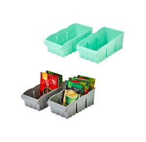 Organisierbox in verschiedenen Farben, ca.27x14x10cm, 2er Pack