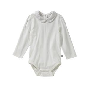 Liegelind Baby-Mädchen-Body mit Spitzenkragen