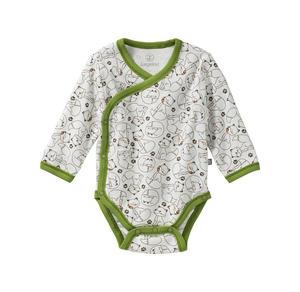 Liegelind Baby-Jungen-Wickelbody mit Fuchs-Muster