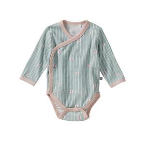 Liegelind Baby-Mädchen-Wickelbody mit Herzchen