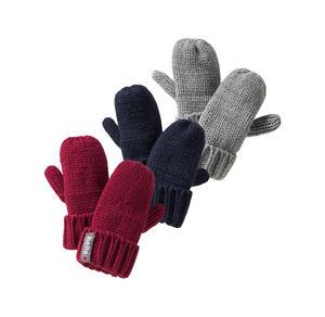 Baby-Handschuhe mit Strick-Design