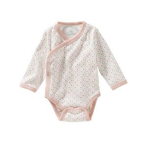 Liegelind Baby-Mädchen Wickelbody mit Punkte-Muster