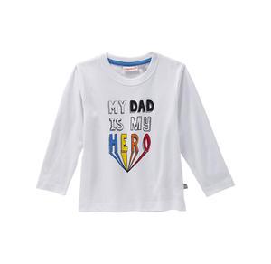 Liegelind Baby-Jungen-Shirt mit Streifenmuster, 2er Pack
