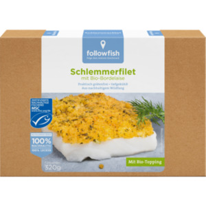 followfish Backfisch oder Schlemmerfilet