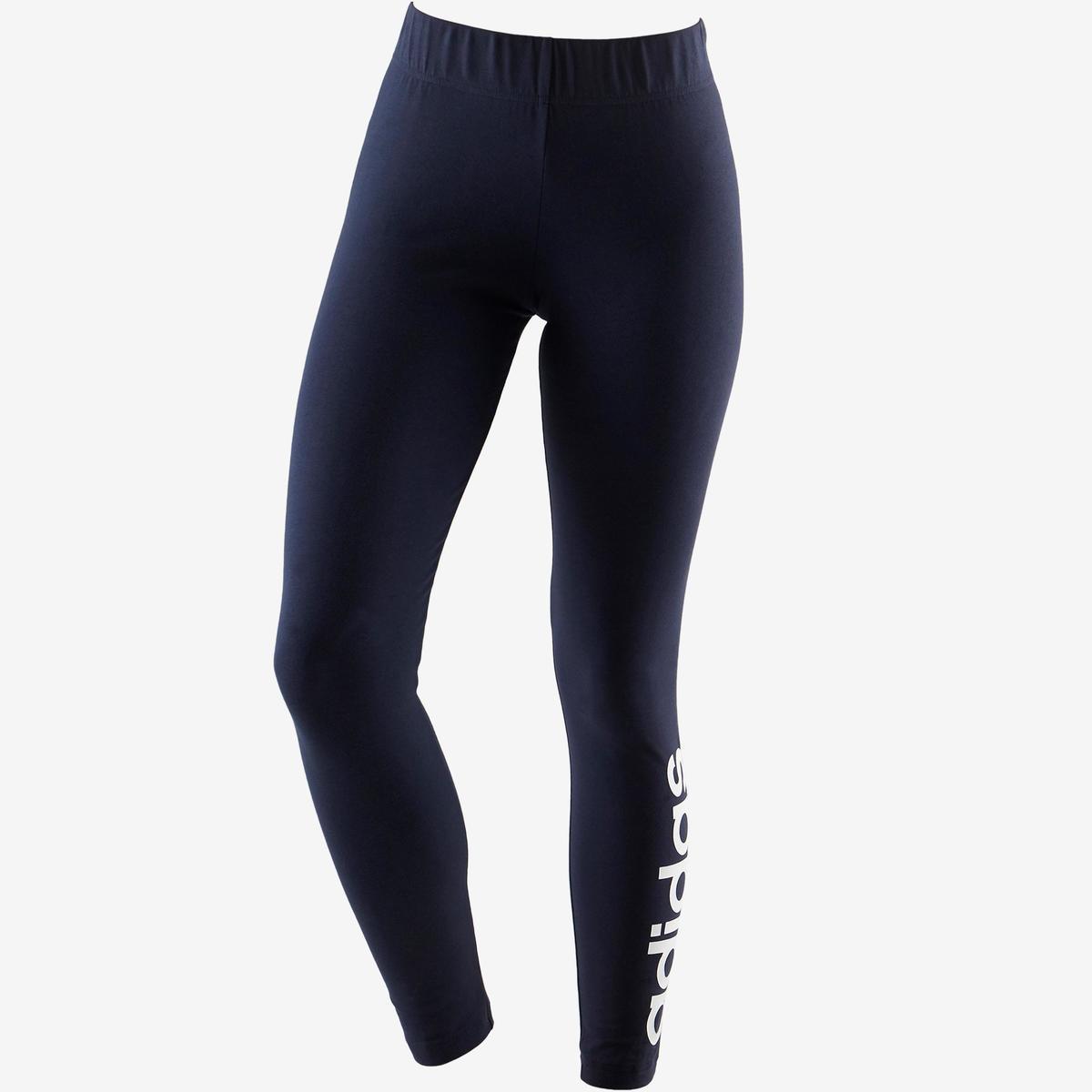Bild 2 von Leggings Linear 500 Gym Damen weiß/blau