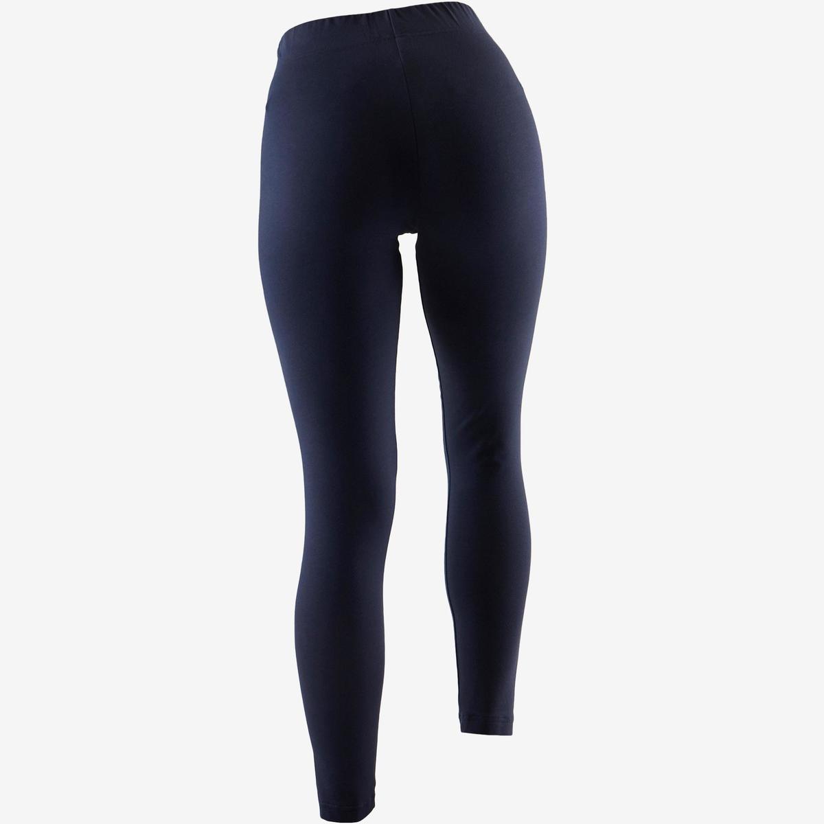 Bild 4 von Leggings Linear 500 Gym Damen weiß/blau