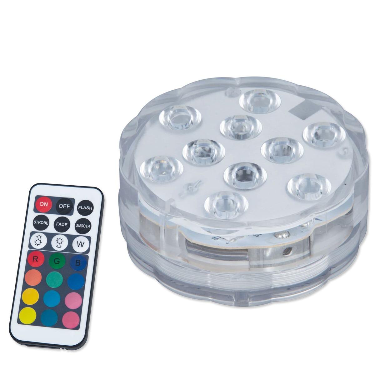 Bild 1 von LAMPURA LED-RGB-Dekoleuchte - Kunststoff - mit Fernbedienung