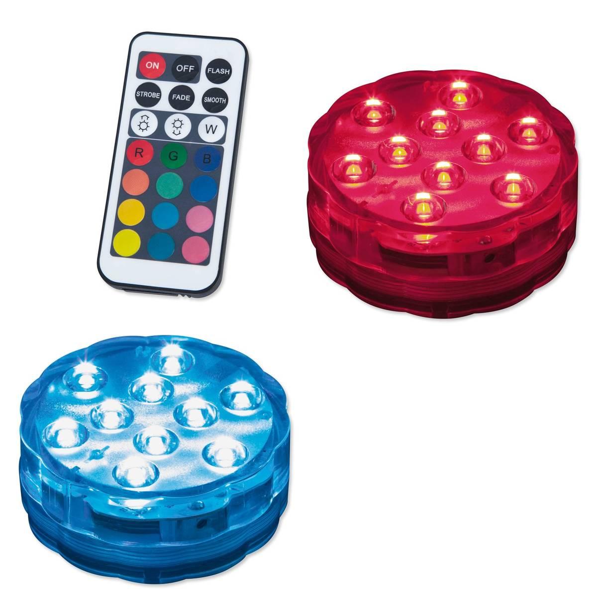 Bild 2 von LAMPURA LED-RGB-Dekoleuchte - Kunststoff - mit Fernbedienung