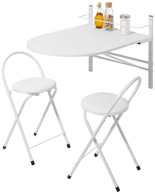 Küchenbar mit 2 Stühlen von Kaufland ansehen!