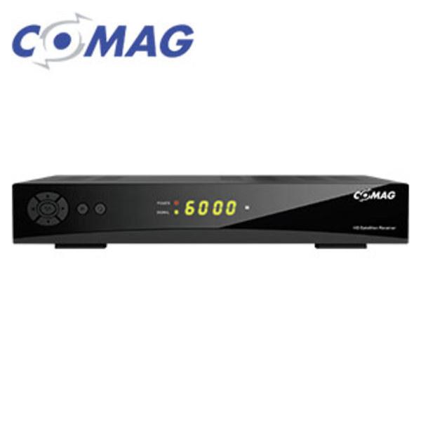 HDTV-Sat-Receiver HD55plus PVRready 4-stelliges Display, Aufnahme-Funktion über USB (PVRready), bis 1080p möglich, EPG, 12-Volt-Betrieb möglich, HDMI-/Scart-/USB-Anschluss