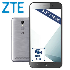 Smartphone Blade A602 · 2 Kameras (5 MP/13 MP) · 1-GB-RAM · microSD™-Slot bis zu 128 GB · Android™ 7.0