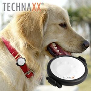 Fittypet TX-46 · Fitnesstracker für Ihr Haustier · einfache Befestigung am Halsband · verfolgen von Aktivität, Schlaf u. körperlicher Verfassung · Erinnerung für Wurmkur, Impfungen und Tierar