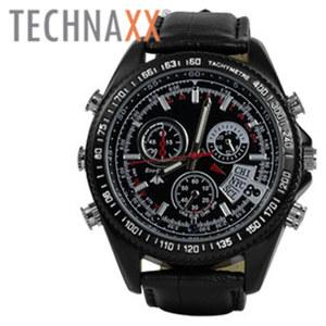 Video-Armbanduhr TX-93 · mit Full-HD Kamera (2 MP) · seperate Tonaufnahme · 8 GB Speicher · staub- und strahlwassergeschützt einfache Übertragung per USB-Kabel auf den PC
