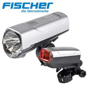 LED-Beleuchtung 10/20 Lux Lichtleistung, LED-Lebensdauer ca. 50.000 h, inkl. Batterien und Halter