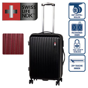 ABS-Hartschalenkoffer · Koffer S: 56 cm/3,2 kg/33 Liter