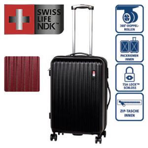 ABS-Hartschalenkoffer · Koffer M: 66 cm/3,8 kg/58 Liter