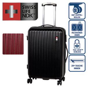 ABS-Hartschalenkoffer · Koffer L: 75,5 cm/4,7 kg/90 Liter