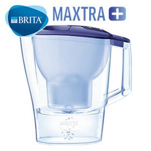 """Wasserfilter """"Aluna Cool"""" - in Blau oder Weiß - Gesamtvolumen: ca. 2,4 Liter - inkl. 1 MAXTRA+ Filterkartusche"""