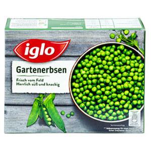 Iglo Naturgemüse Garten-Erbsen, Broccoli-Röschen oder Prinzess-Bohnen, gefroren, jede 400-g-Packung