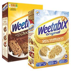 Weetabix Original Englisches Weizenfrühstück jede 430-g-Packung