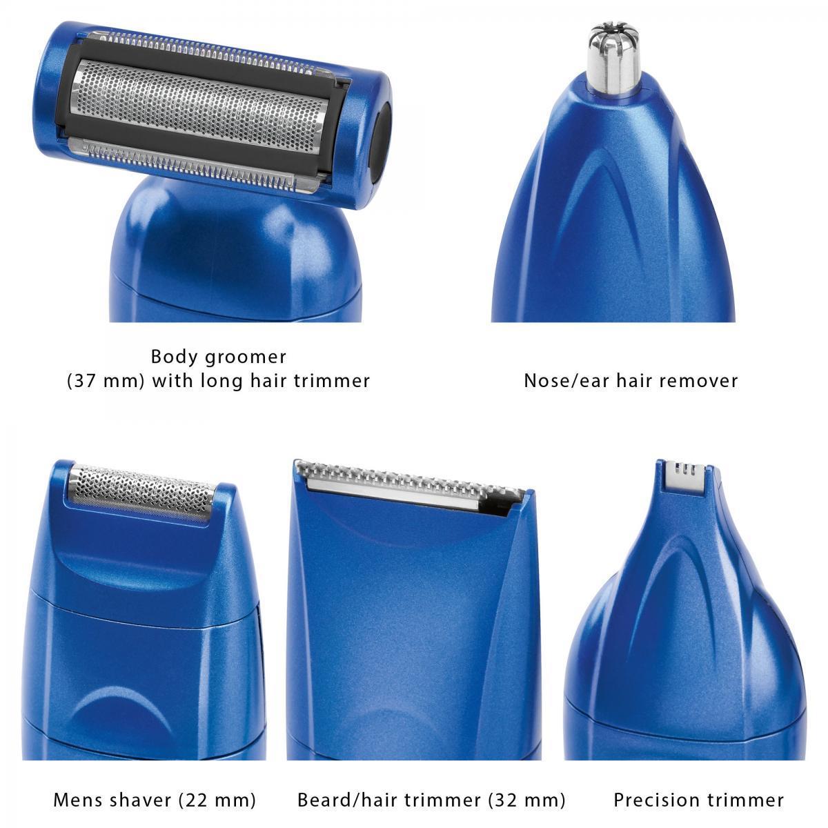Bild 3 von ProfiCare Body- Groomer/Hair-Trimmer Set PC-BHT 3015 blau