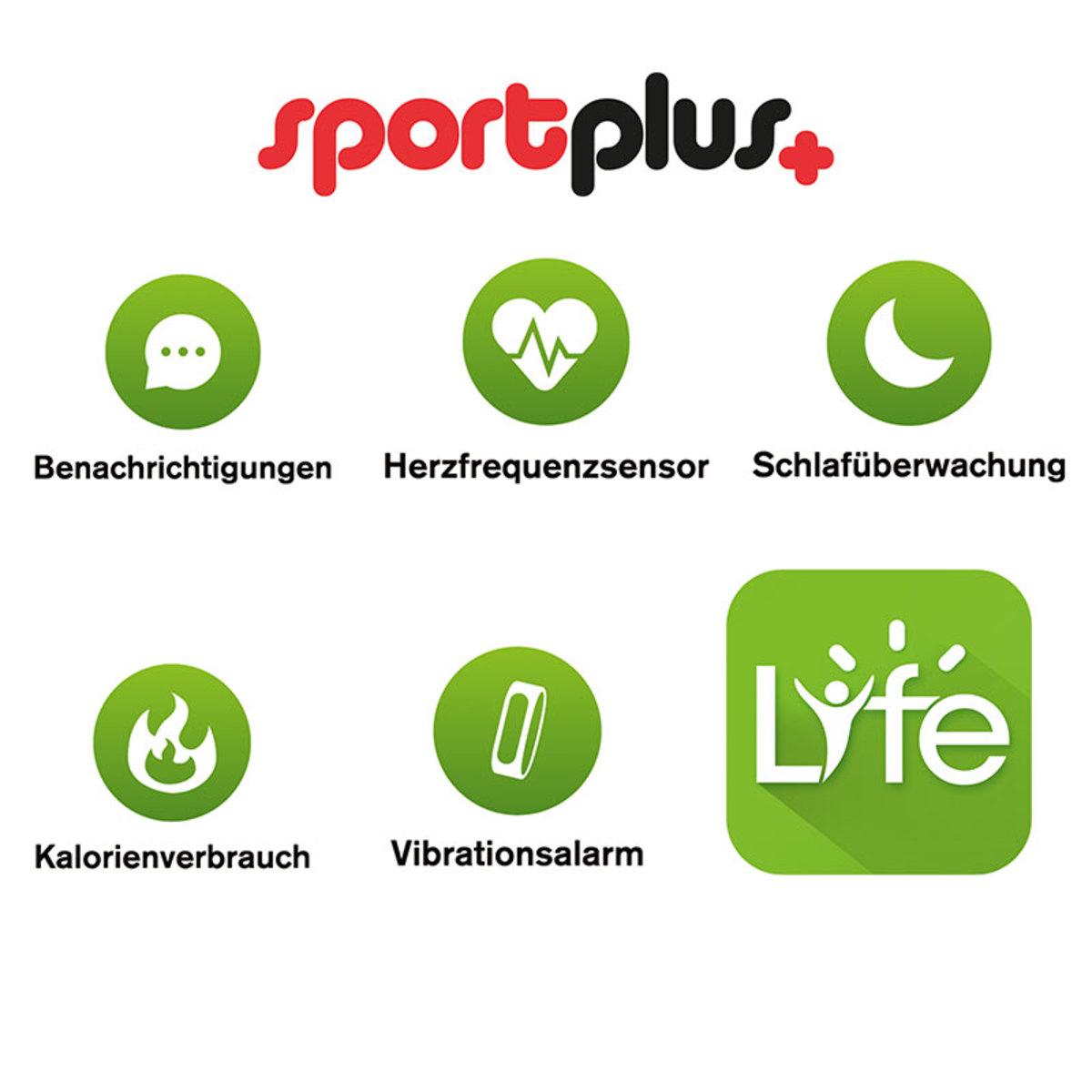 Bild 2 von SportPlus Activity- und Schlaf-Tracker SP-AT-BLE-100