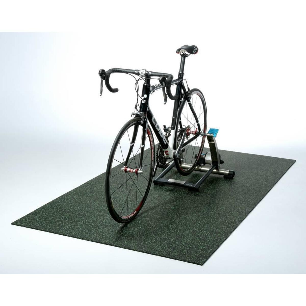 Bild 4 von acerto® Unterlegmatte für Fitnessgeräte 60x125cm (8mm) lila weiß